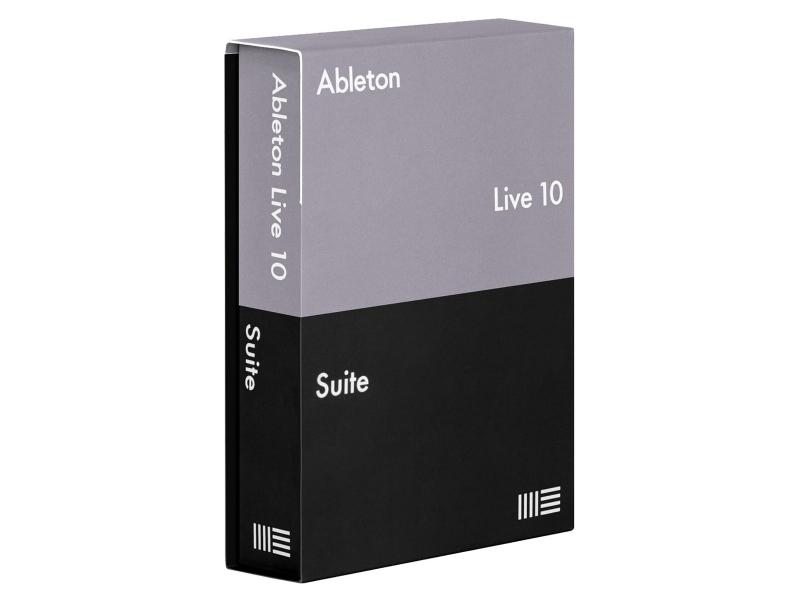 Ableton Live 10 Suite - frissítés Live 1-9 Standard-ról, letölthető verzió