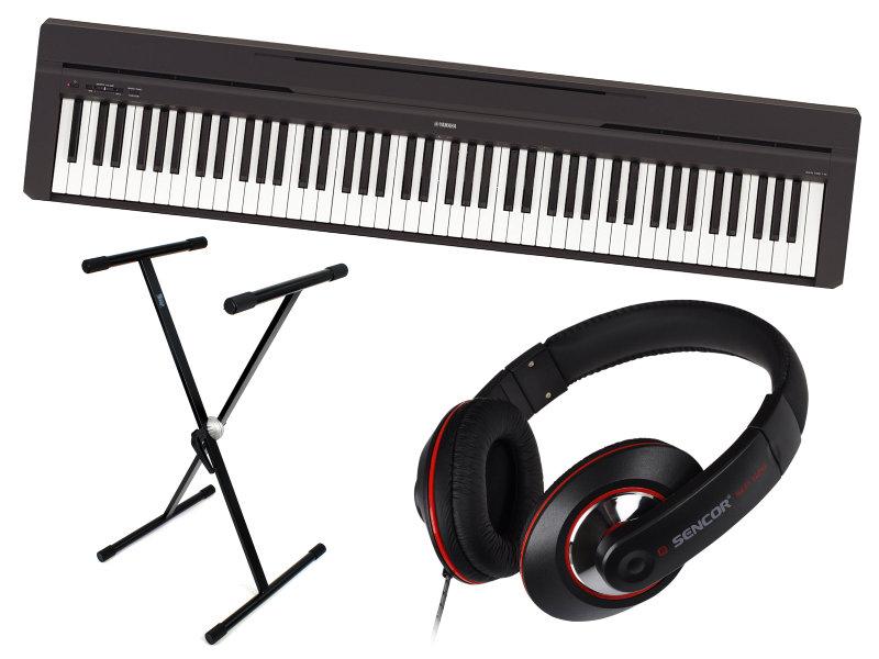 Yamaha P-45B digitális zongora szett + 3 hónap applikációs oktatás!